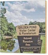 Golden Pond Visitor Center And Planetarium Wood Print