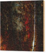 Golden Texture Wood Print