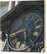 Golden Time Wood Print