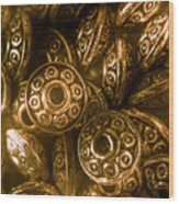 Golden Ufos From Egyptology  Wood Print