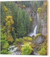 Golden Valley Wood Print