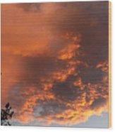 Golden Vista Wood Print