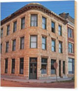 Goldfield Consolidated Mines Building Wood Print