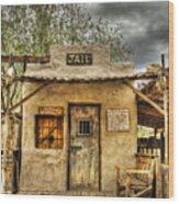 Goldfield Ghost Town - Jail  Wood Print