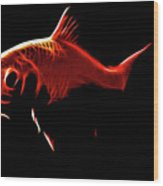 Goldfish 1 Wood Print