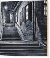 Goldsmiths Passage Wood Print