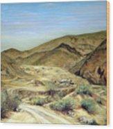 Goler Gultch California Wood Print by Evelyne Boynton Grierson
