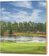 Golf At Pinehurst  Wood Print