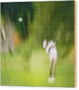 Golf At The Blue Monster In Doral Florida 01 Wood Print