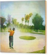 Golf At The Blue Monster In Doral Florida 02 Wood Print