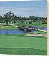 Golf Course Gold Coast Queensland Wood Print