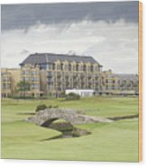 Golf Hotel, St Andrews Wood Print