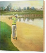 Golf In Club Fontana Austria 02 Wood Print
