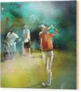 Golf In Club Fontana Austria 03 Wood Print