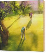 Golf In Spain Castello Masters  01 Wood Print