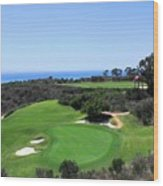 Golf Is Rough At Pelican Hill Resort Wood Print