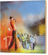 Golf Madrid Masters 01 Wood Print