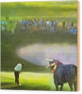 Golf Madrid Masters 03 Wood Print