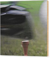 Golf Sport Or Game Wood Print