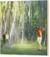 Golf Trophee Hassan II In Royal Golf Dar Es Salam Morocco 01 Wood Print