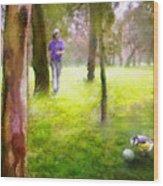 Golf Trophee Hassan II In Royal Golf Dar Es Salam Morocco 02 Wood Print