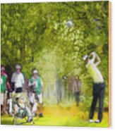 Golf Trophee Hassan II In Royal Golf Dar Es Salam Morocco 03 Wood Print