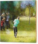 Golf Vivendi Trophy In France 02 Wood Print