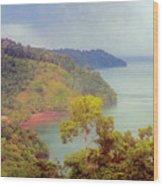 Golfo Dulce Costa Rica Wood Print