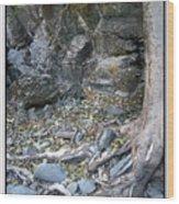 Gollum's Cave Wood Print
