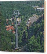 Gondola Hexentanzplatz Wood Print