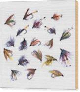Gone Fishing Wood Print by Meirion Matthias