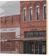 Gone Grocery 5 #vanishingtexas Street Scene Rosebud Texas Wood Print