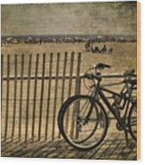 Gone Swimming Wood Print