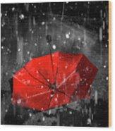 Gone With The Rain Wood Print