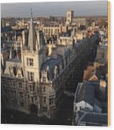Gonville And Caius College Wood Print