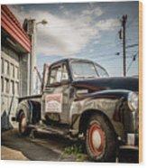 Goober's Tow Truck Wood Print