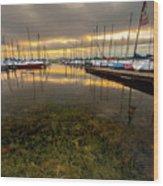 Good Day To Sail Wood Print