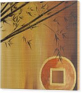 Good Fortune Bamboo 2 Wood Print
