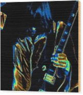 Good Guitar Vibrations Wood Print