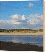 Good Harbor Serenity Wood Print