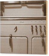 Good Home Cookin Wood Print