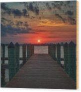 Good Morning Fort Myers Wood Print