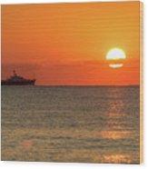 Good Morning Ft. Lauderdale Wood Print