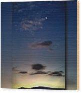 Shades Of Dawn Wood Print