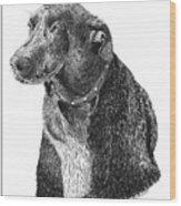 Good Old Charlie Wood Print