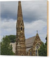 Good Shepherd Church Wood Print