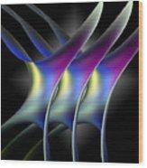 Good Vibrations Wood Print