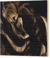 Goodbye Kiss Wood Print