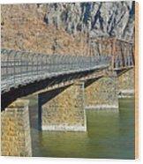 Goodloe E. Byron Memorial Footbridge Wood Print