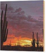 Goodnight Tucson Wood Print
